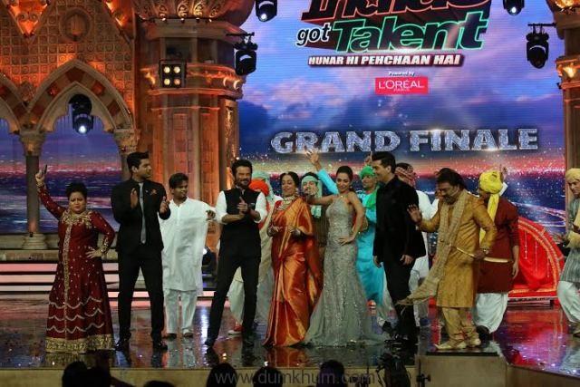 Anil Kapoor (Jai Singh Ratho ... Got Talent Grand Finale