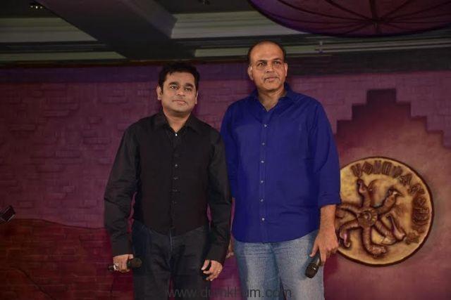 Ashutosh Gowariker, A R Rahman,