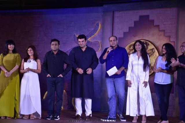 Ashutosh Gowariker with his crew