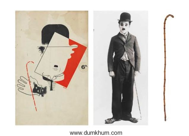 Canes of Legendary Ranjit Singhji and Charlie Chaplin for sale at Christie's