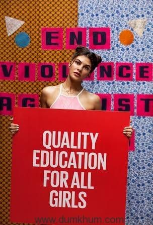 Jacqueline Fernandez Project Everyone Reduced 1