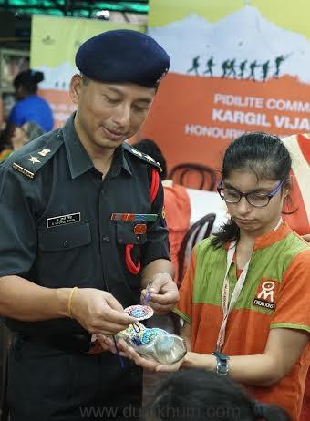 Lt.Col.K.J.Singh, C.O.D Mum ... tion trust young adults-