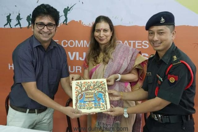 Lt.Col.K.J.Singh, C.O.D Mum ...
