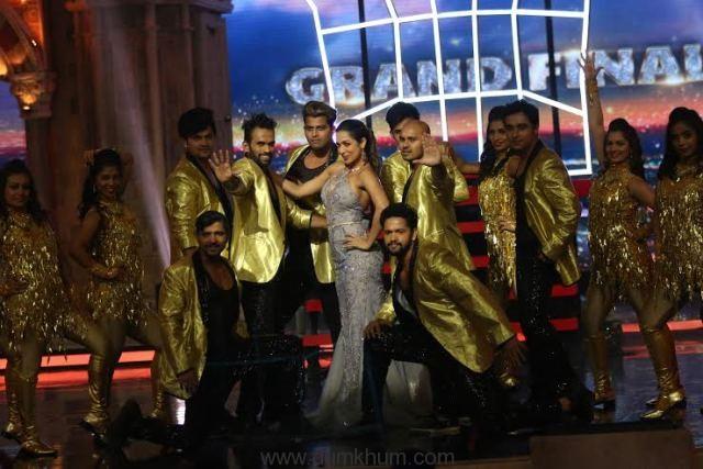Malaika on India's Got Talent finale
