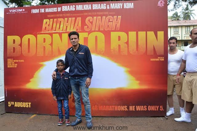 Manoj Bajpayee launches Budhia Singh Born To Run anthem-