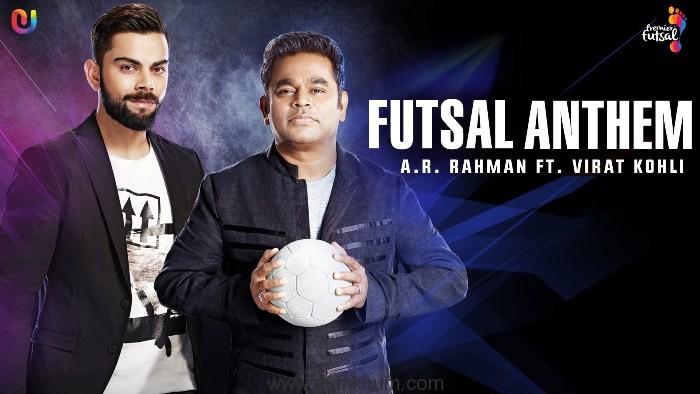 AR Rahman unveils the Premier Futsal Anthem on Eid