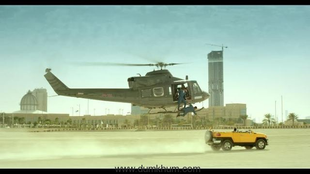 OMG! Dishoom team to do a live stunt2