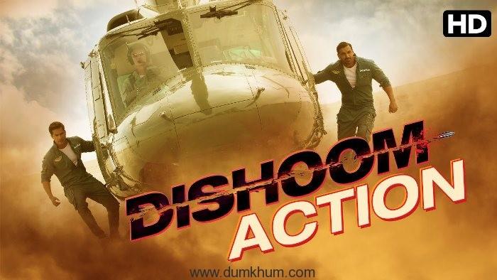 OMG! Dishoom team to do a live stunt!