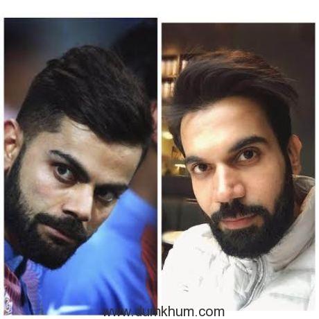 Rajkumar looks like Virat Kohli in this look!