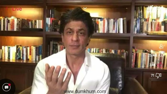 Steve Jobs' biography changed the way Shah Rukh Khan does business, admits live on #fame