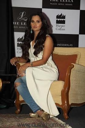 Sania Mirza book launch Mumbai