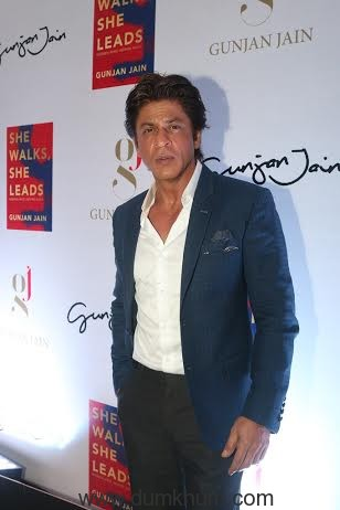 Shah Rukh Khan at the launch of She Walks She Leads.