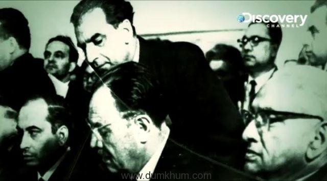 The spectacled man believed ... ring Tashkent Agreemen