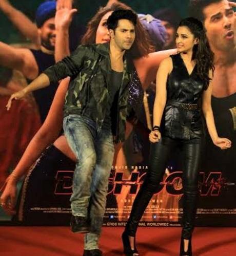 "Varun Dhawan and Parineeti Chopra launch ""Jaaneman Aah"" from Dishoom"
