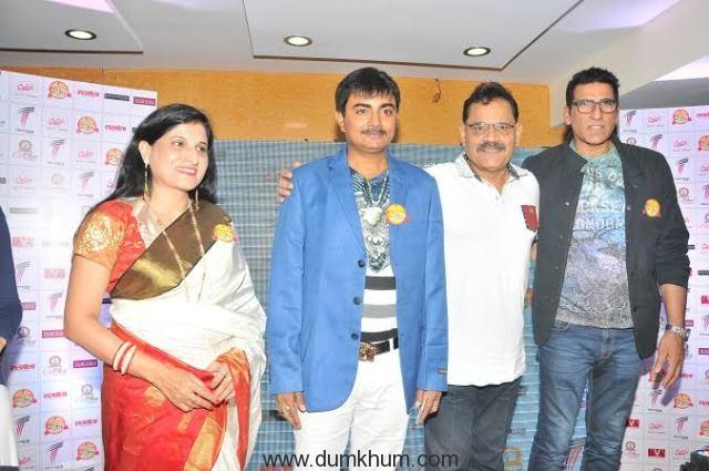Vijay Bhardwaj with Mukesh Rishi