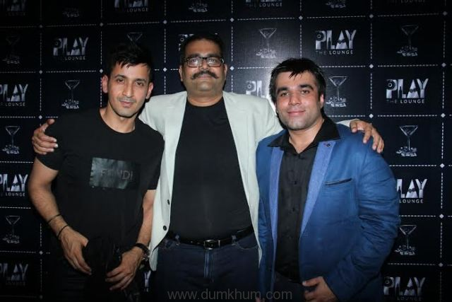 (l- r ) Meet Bros, (CO - FOUNDERS)Kaushik Mehta and Divyesh Thakkar at the launch of PLAY - THE LOUNGE.