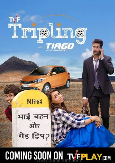 ANNOUNCING TVF's NEXT WEBSERIES — TRIPLING WITH TATA TIAGO