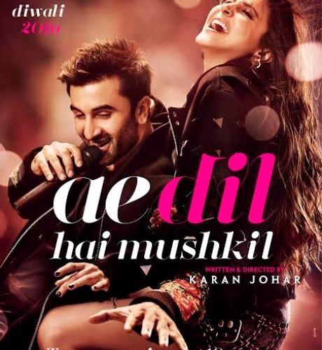 Ae dil hai Mushkil second poster