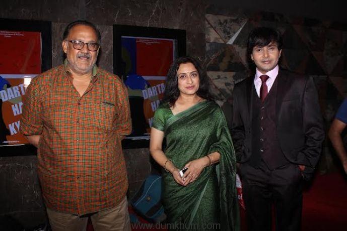 Alok Nath, Navni Parihar and Rajesh Bhardwaj