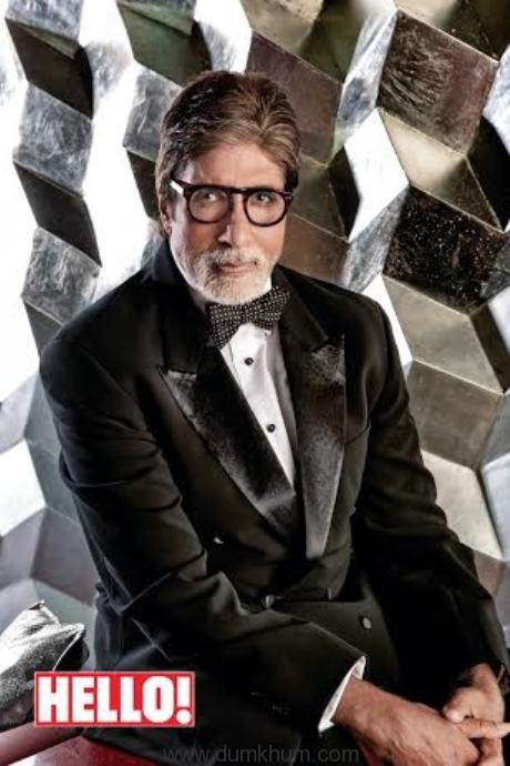 Amitabh Bachchan for Hello! Magazine