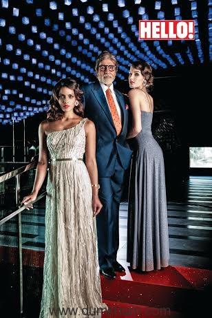 Amitabh Bachchan_ Hello! Magazine Shoot.