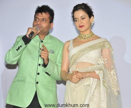 Aneel Murarka with Kangana Ranaut 1