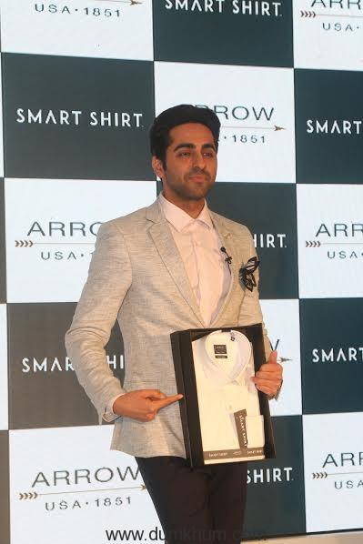 Ayushmaan Khurana a ... Arrow Smart Shirt 1