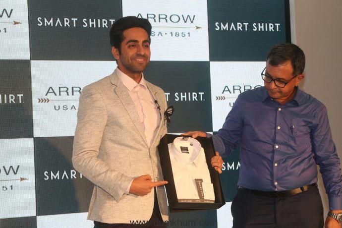 Arrow unveils India's first Smart Shirt with Ayushmann Khurrana