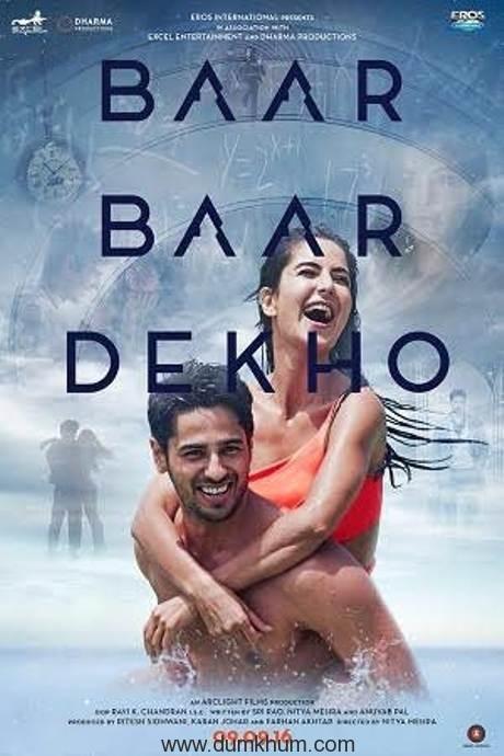 Baar Baar Dekho- Poster