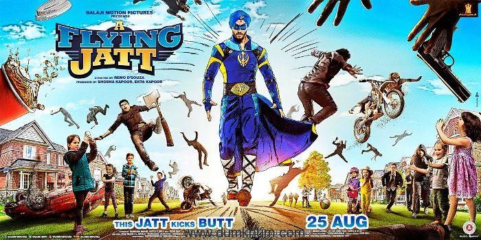 Flying Jatt - Poster