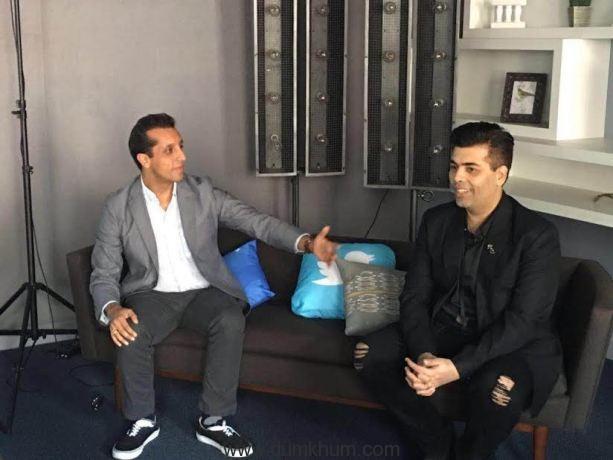 Karan Johar first Bollywood filmmaker to visit  Twitter headquarters