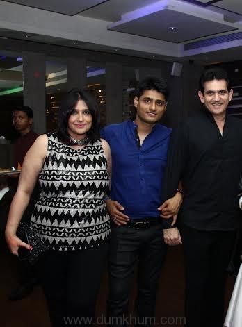 L to H -Omang Kumar's wife, Producer Sandeep Singh, Omang Kumar