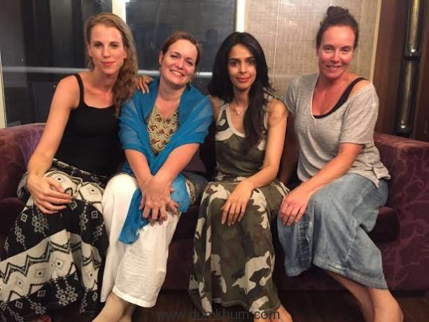 Mallika shoots for Dutch documentary 'Free A Girl'!