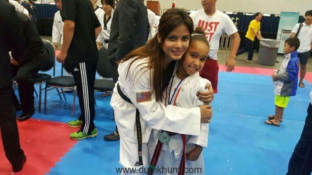 Neetu N Chandra represents India at the Korean Ambassador's Korus Taekwondo World Championship-4