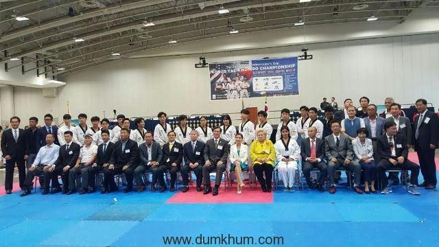 Neetu N Chandra represents India at the Korean Ambassador's Korus Taekwondo World Championship