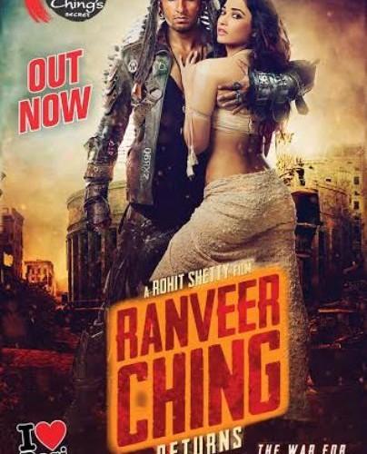 ROHIT SHETTY & RANVEER'S BLOCKBUSTER:  RANVEER CHING RETURNS   EXPLODES IN CINEMAS TODAY!