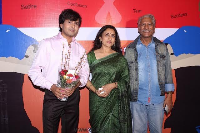 Rajesh Bhardwaj, Navni Parihar and Rajendra Gupta
