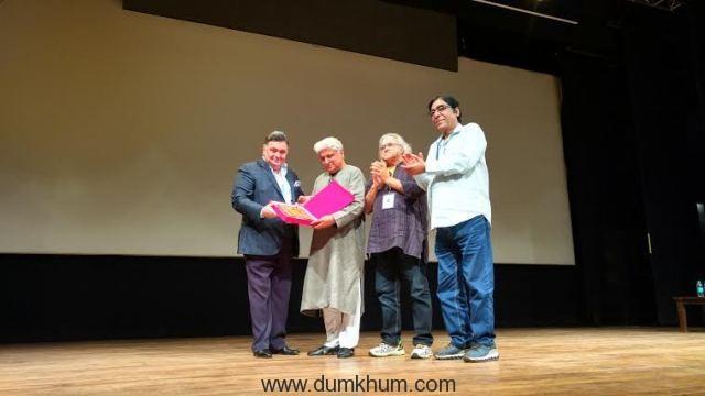 Rishi Kapoor,javed Akhtar, Kamlesh Pandey & Jalees Sherwani