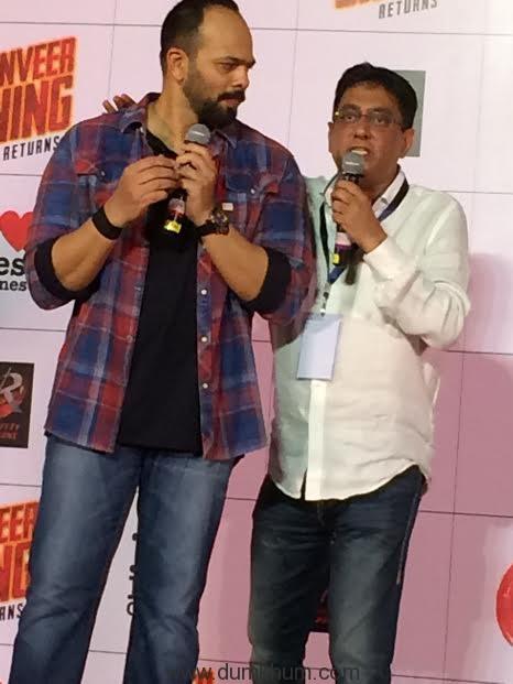 Rohit Shetty & Ajay
