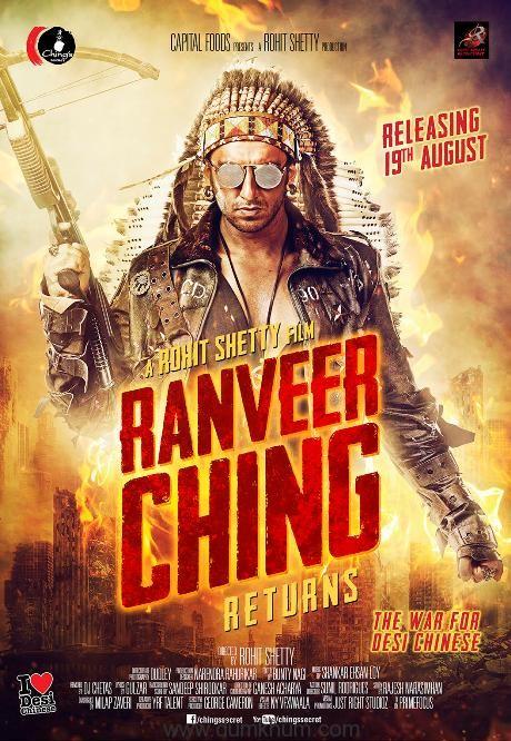 Rohit Shetty's RANVEER CHING RETURNS