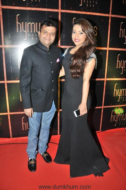 Saumya Shetty with Aneel Murarka