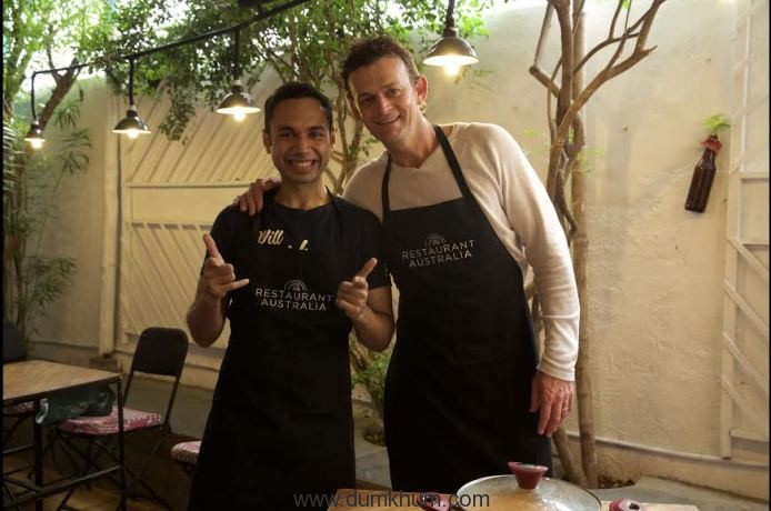 Something's cooking between Adam Gilchrist and Saransh Goila!