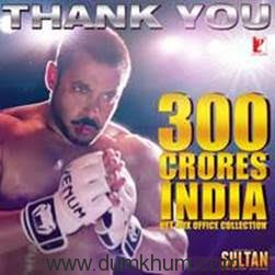 Sultan: ₹ 300 Crore and Counting!