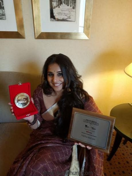 Vidya Balan felicitated by the Victorian government !