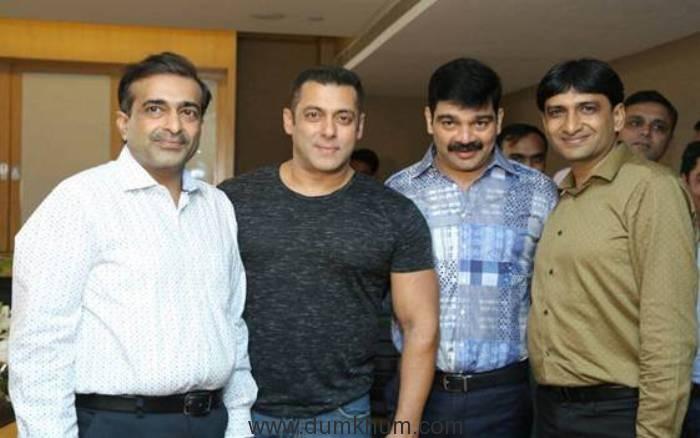 "From Chulbule and Chips to Chulbul Pandey ""Yellow Diamond"" announces ""Salman Khan"" as Brand Ambassador"