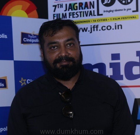 7th Jagran Film Festival day two: An encounter with Anurag Kashyap!