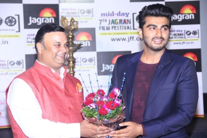 Arjun Kapoor inaugurates 7th Jagran Film Festival in Mumbai!