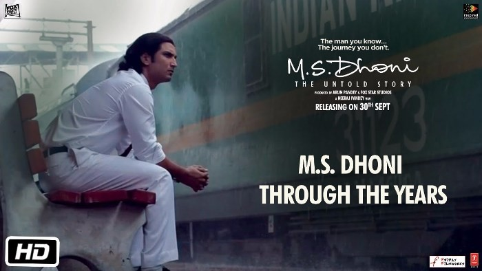 The new video released by makers of MS Dhoni: The Untold Story, depicts the various phases of Dhoni's life.
