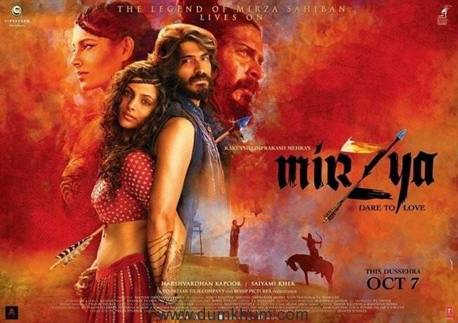 Harshvardhan and Saiyami enchant in this new poster of Mirzya!