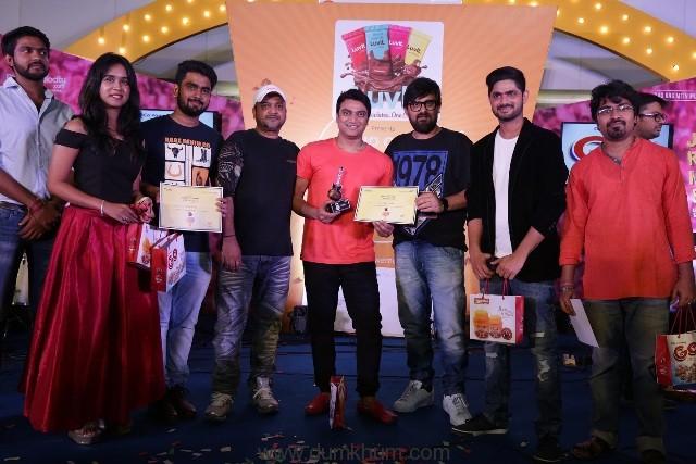Music Directors Sajid Wajid with Radio City Super Singer Season 8 finalists